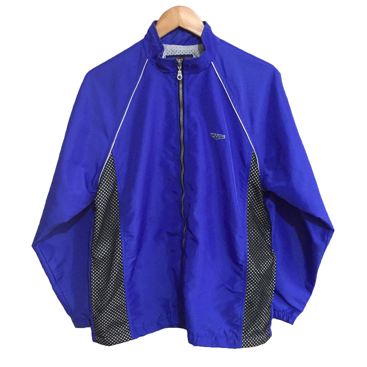 SMP Clothing Windbreaker Full Zip Jacket Mens Small