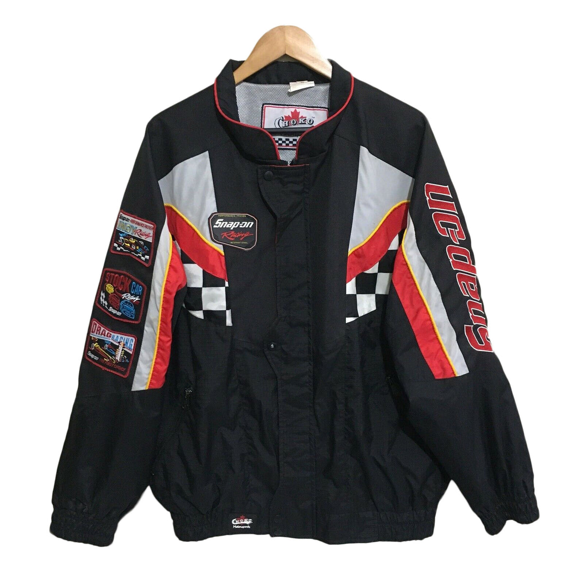 Snap-On Racing Nascar Choko Vintage 1999 Jacket Mens XL