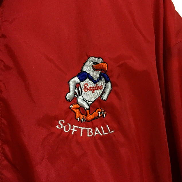 Eagles Softball Sportswear Track Jacket Mens Small