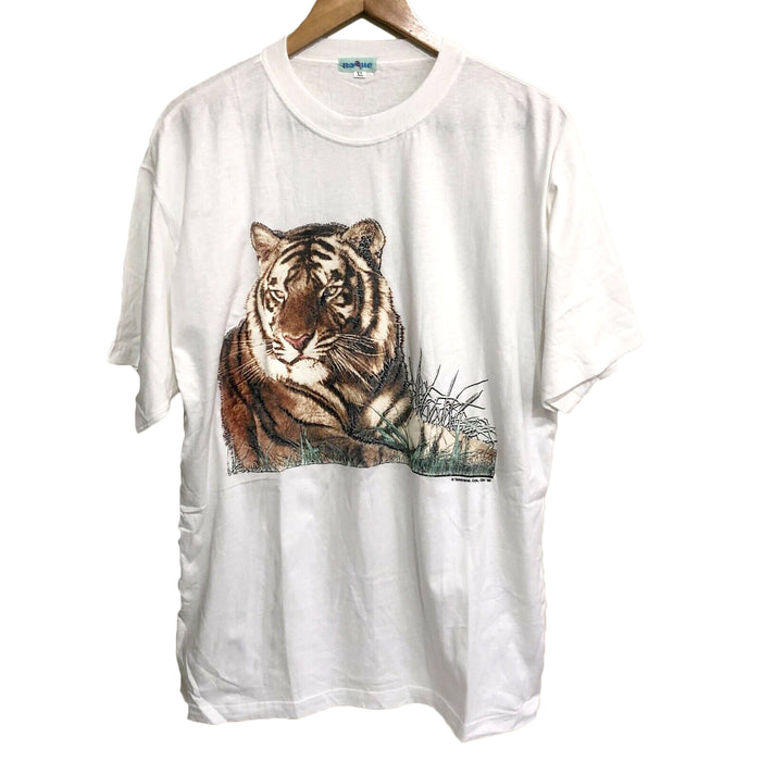 Tiger Rogue 1995 Vintage T-Shirt Mens XL