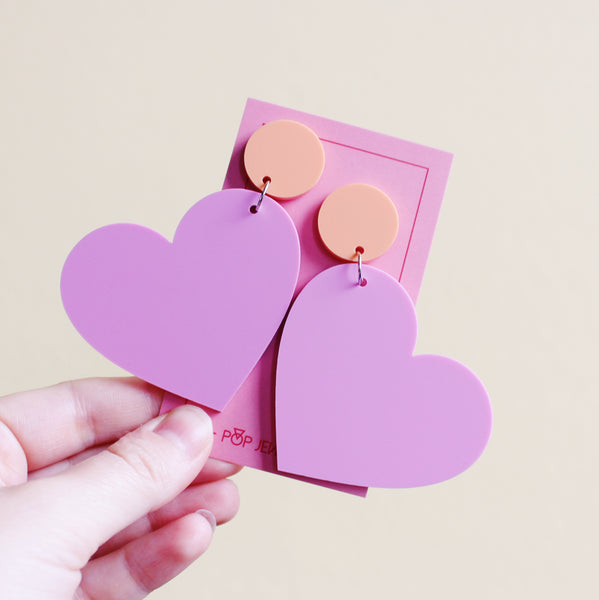 Lovers - Matte Pastel Bubblegum/Peach