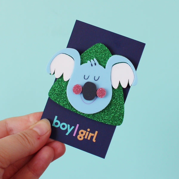 The Lazy Boy Brooch