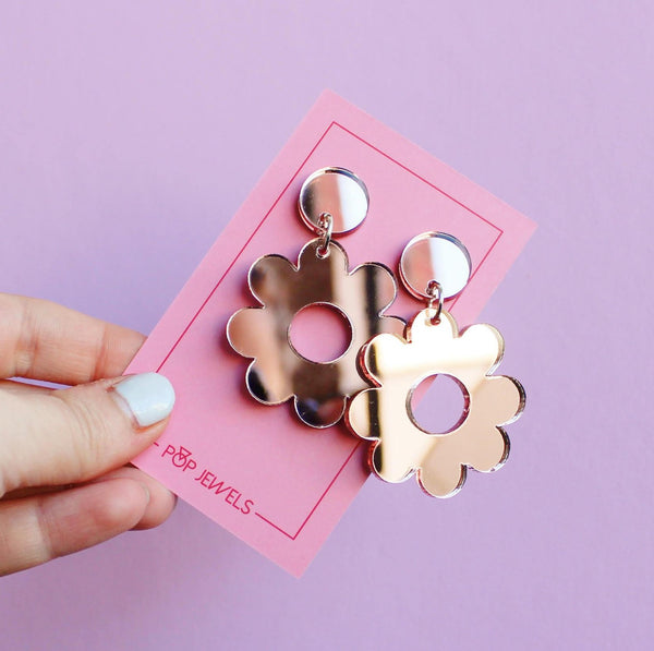 Daisy, Daisy - Rose Gold Mirror