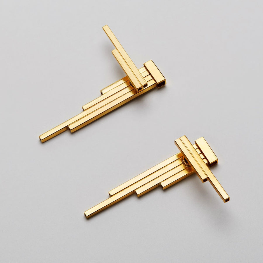 CONCORD¹- double sided modular  earrings