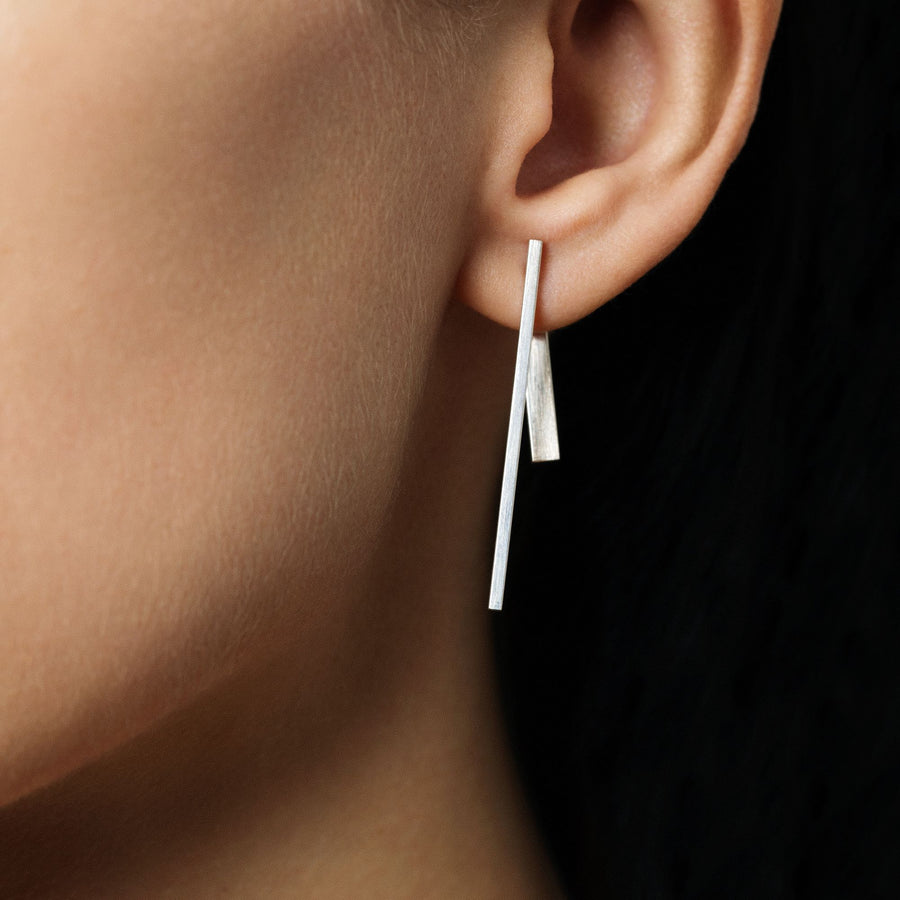 FORE double sided earrings