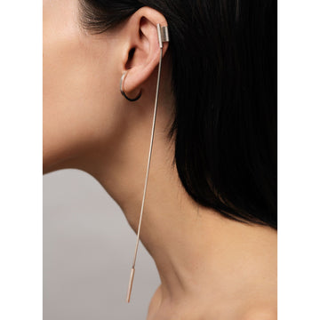 RESTRAIN top long cuff earring