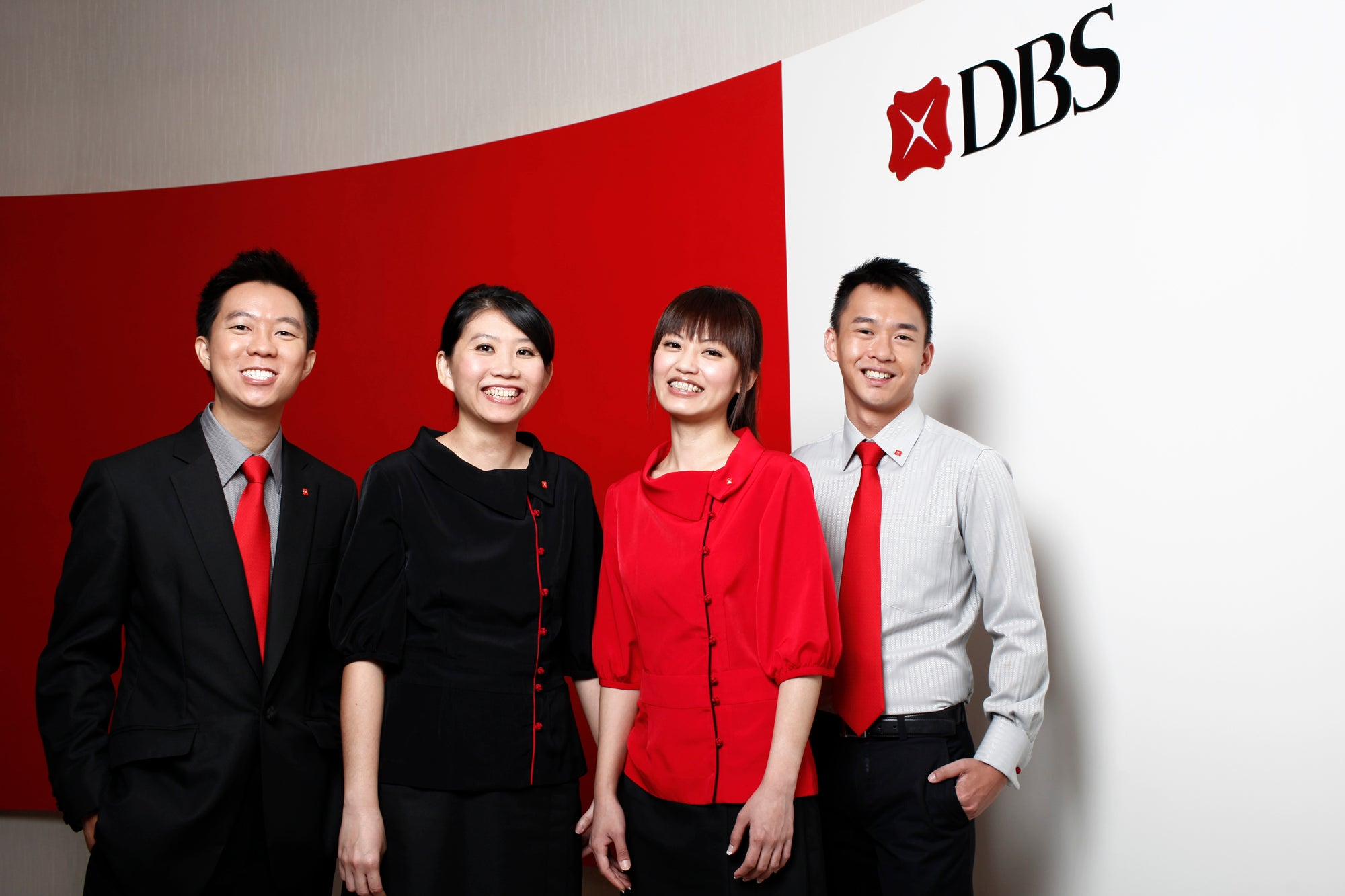 hansel Jo Soh DBS Bank Asia staff uniforms Singapore fashion design