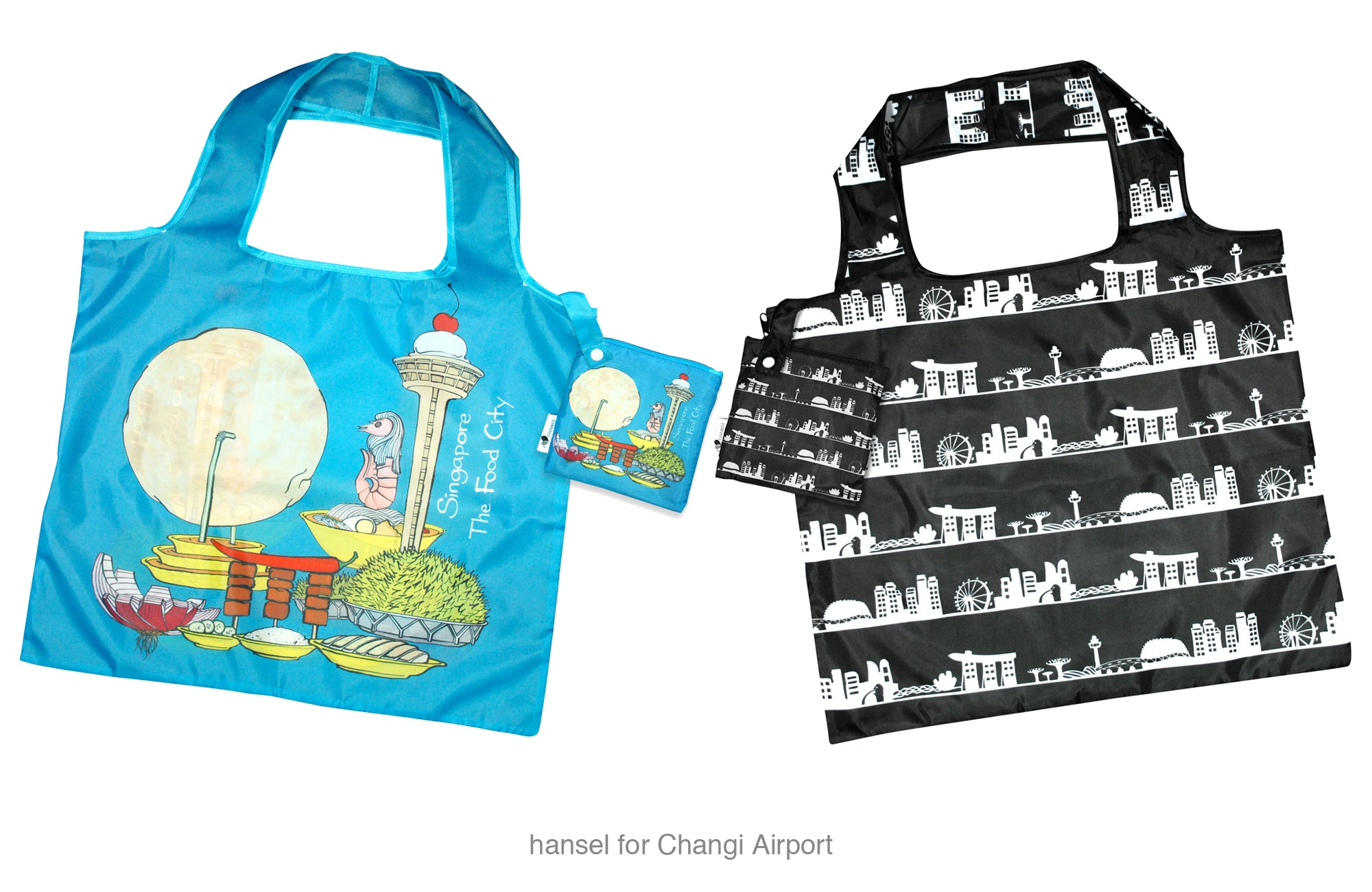 hansel Jo Soh hand drawn art Changi Airport merchandise Singapore fashion designer
