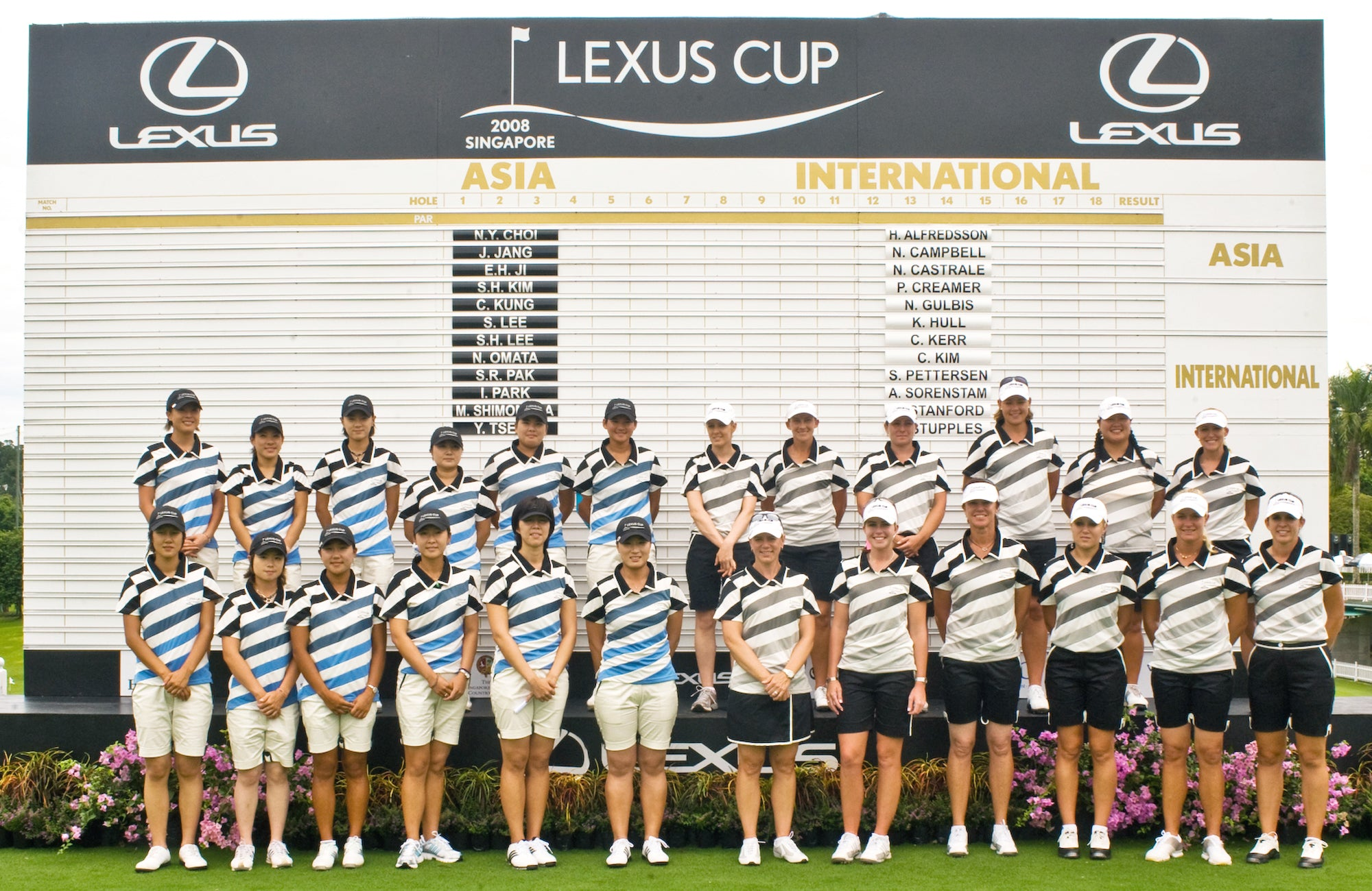 hansel Jo Soh Lexus Cup 2008 uniform design Singapore fashion designer