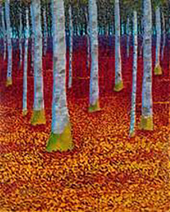 Autumn Birch IV (SOLD)