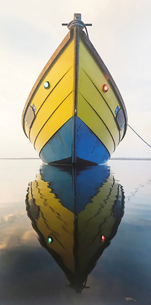 Yellow & Blue Hull