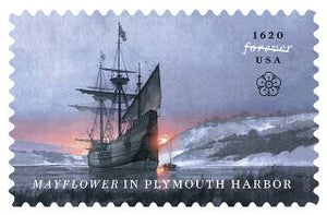 USPS Mayflower Commemorative Stamp by Greg Harlin