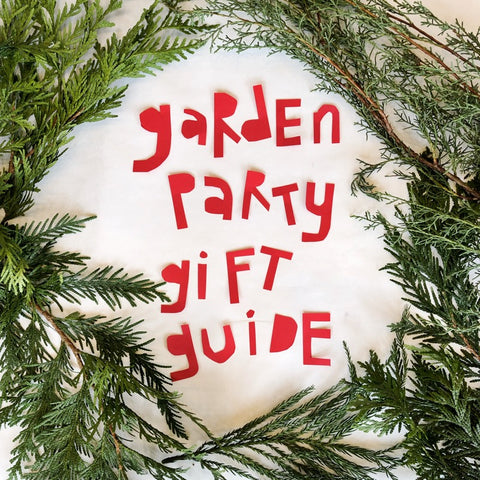 Garden Party Gift Guide 2018: Weird Wild World of White