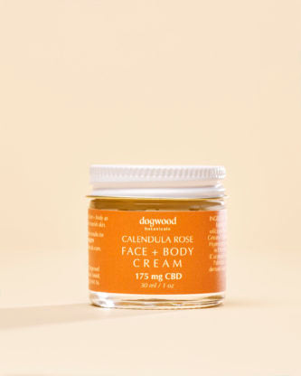 Dogwood Botanicals - Calendula Rose CBD Cream