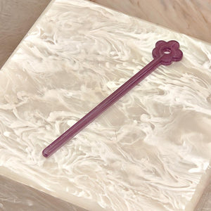 Purple Tamping Stick by Edie Parker