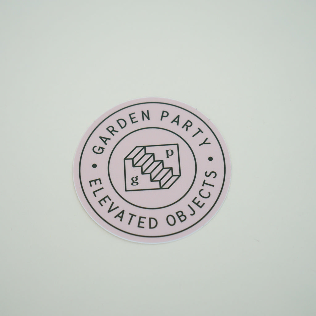 Garden Party - Logomark Sticker