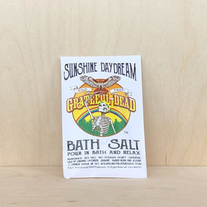 Wild Yonder Botanicals - Bath Salt Grateful Dead TM