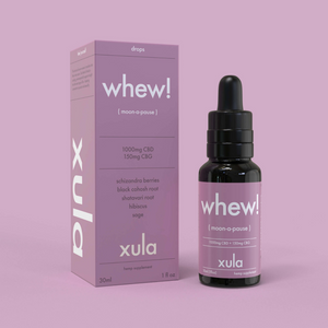 Whew! Moon-a-Pause Tincture by Xula Herbs