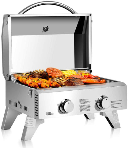 Giantex Stainless Steel Tabletop Gas Grill