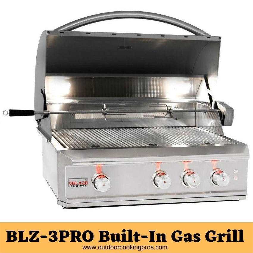 BLZ-3PRO Built-In Gas Grill
