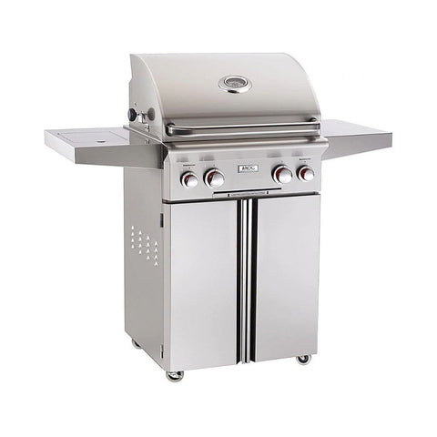 """American Outdoor Grill 24PCT Portable 24"""" 2 Burner Gas Grill"""