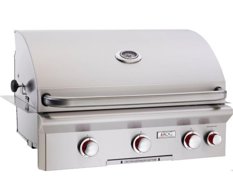 """American Outdoor Grill 30NBT Built-in 30"""" 3 Burner Gas Grill"""
