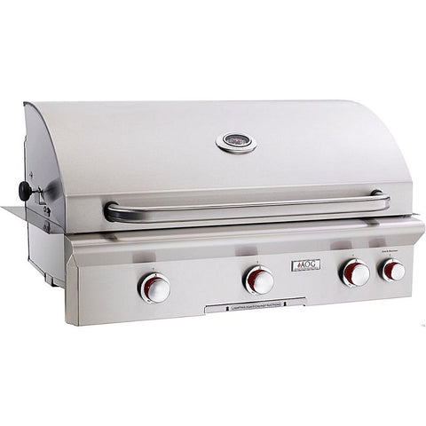 """American Outdoor Grill 36NBT Built-In 36"""" 3 Burner Gas Grill"""
