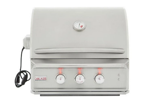 Blaze Professional 24 Stainless Steel Built-In Gas Grill With Infrared Burner BLZ-2PRO
