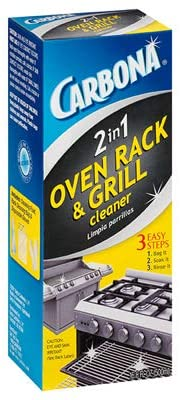 Carbona 2-in-1 Oven Rack and BBQ Grill Cleaner
