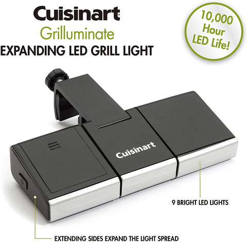 Cuisinart CGL-330 Grilluminate Expanding LED Grill Light with description