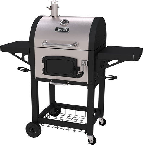 Dyna-Glo DGN405SNC-D Heavy Duty Stainless Charcoal Charcoal Grill