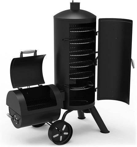 Dyna-Glo Signature Series DGSS1382VCS-D Heavy-Duty Vertical Offset Charcoal Smoker