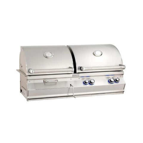 "Fire Magic Aurora A8301 46"" Stainless Steel Built-In Gas/Charcoal Grill"
