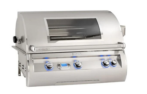 Fire Magic Echelon Diamond E790I 36 Stainless Steel Built-In Gas Grill w Magic View Window