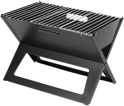 Fire Sense Black Notebook Charcoal Grill
