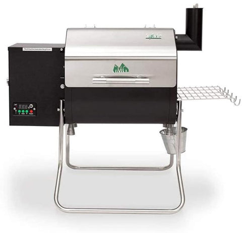 Green Mountain Grills Davy Crockett Wi-Fi Controlled Portable Wood Pellet Grill