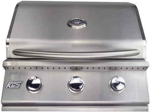 """RCS Grill Premier RJC26A 26"""" Stainless Steel Series Drop-In Gas Grill"""