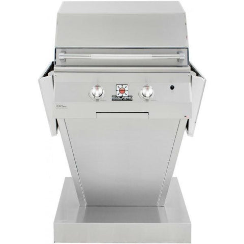 "Solaire SOL-AGBQ-27GIR-PED 27"" Freestanding Infrared Gas Grill"
