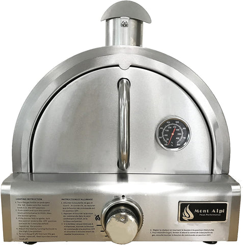 The Mont Alpi Portable Propane Gas Outdoor Pizza Oven