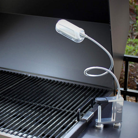 Yukon Glory Bright and Durable Magnetic LED Grill Light Used with a grill