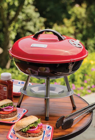 grill in the woods