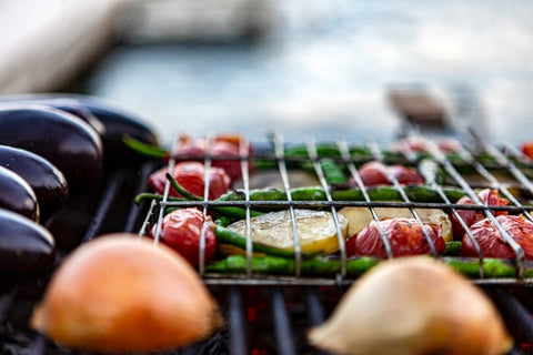 grilled food outdoors