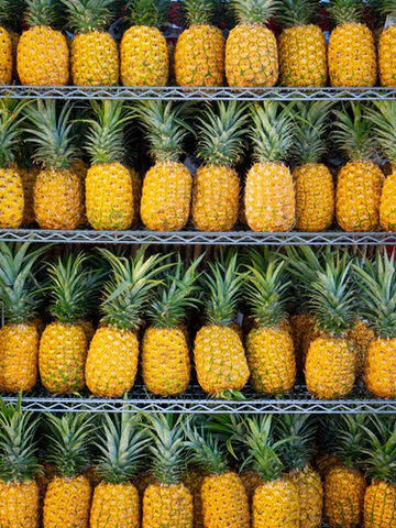There is probably no better fruit on the grill than a pineapple.