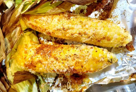There's nothing better than grilled sweet corn!