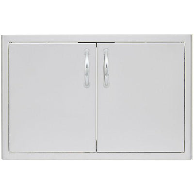 "Blaze 25"" Stainless Steel Double Access Kitchen Door BLZ-AD25-R"