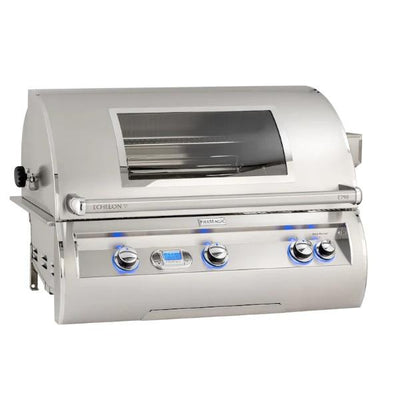"Fire Magic Echelon Diamond E790I 36"" Stainless Steel Built-In Gas Grill w/ Magic View Window"