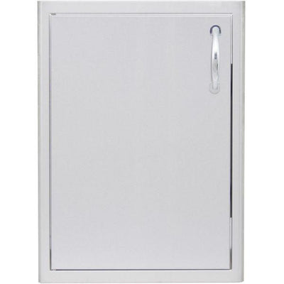 "Blaze 18"" Stainless Steel Vertical Single Access Door Left Hand Hinged BLZ-SV 1420-R-LH"
