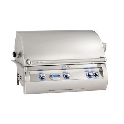 "Fire Magic Echelon Diamond E790I 36"" Stainless Steel Built-In Gas Grill w/ Rotisserie"