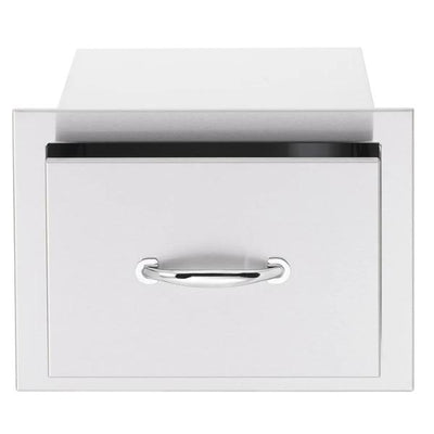 "Summerset SSDR1-17 17"" Stainless Steel Single Drawer w/ Matching Handle"