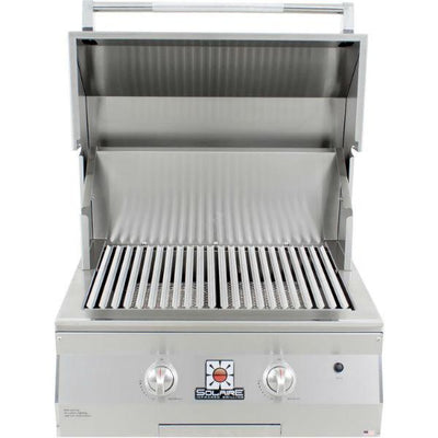 "Solaire SOL-AGBQ-27GIR 27"" Stainless Steel Built-In Infrared Gas Grill"